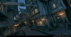 Boerstone Market Fable by Rob Watkins | 3D | CGSociety