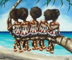 Babasiga: Some Fiji drawings and paintings |Fijian Artwork