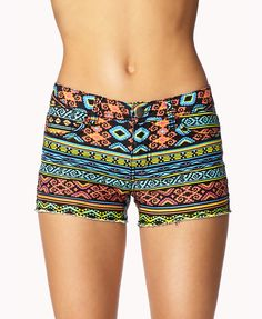 Tribal Print Denim Cut Offs | FOREVER21 I MUST HAVE THESE!!!!!