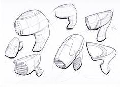 Hair-dryer sketches