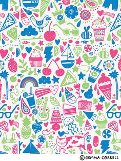 summer by gemma correll, via Flickr