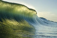 Morning Perfection Photo by Sam Farkas -- National Geographic Your Shot Glorious kiwi wave Water Waves, Sea Waves, Macro Photography, Amazing Photography, Paradise On Earth, All Nature, National Geographic Photos, Florida Beaches, Your Shot