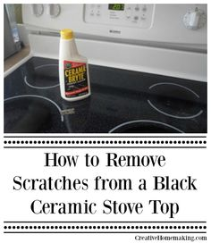 Glass Top Stove Cleaning Hacks