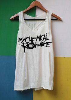 My Chemical Romance Shirt Tank Top TShirt Top Softly Women – size S M L on Etsy, £9.19