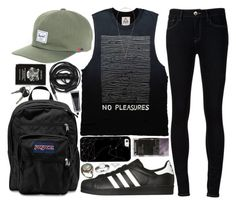"""""""beat back the clock"""" by velvet-ears ❤ liked on Polyvore featuring adidas Originals, Ström, Herschel Supply Co., Casetify, JanSport, Urbanears, Korres, Alexis Bittar, Allurez and Isabel Marant"""