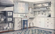 1920's kitchen. Kitchens That'll Never Go Out of Style: 7 Ingredients for a Timeless Look | Apartment Therapy