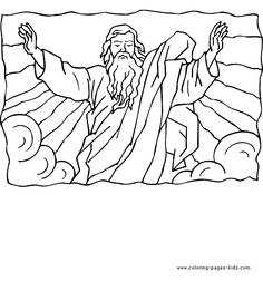 the lord is high above all nations bible coloring page for kids bing images