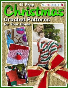 11 Free Christmas Crochet Patterns for Your Home   AllFreeCrochet.com