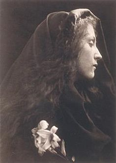Julia Margaret Cameron.  I saw an exibit of her photography at the Art Institute in Chicago...it is truely spectacular.  Her methods were amazing.