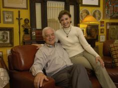 Aug. 2008: Nick and Nina Clooney at home in their Augusta, Ky., residence.