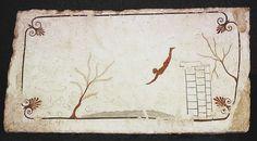 Il tuffatore  (480~470 avanti J.C., Paestum)