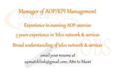 We are currently looking for AOP Manager. See link for Details.  https://www.facebook.com/apmatchlink/photos/a.10152233278302880.1073741826.359210092879/10152790760262880/?type=1&theater …  #MatchlinkJobs