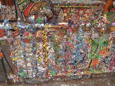 mosaic house in Brooklyn by Heather Whea, via Flickr