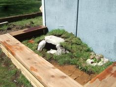 New Russian tortoise enclosure, FINALLY FINISHED!!! Cost - $10!!! | Tortoise Forum