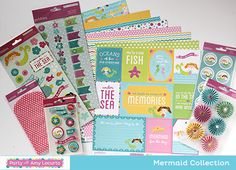 Cute Mermaid Party Birthday Supplies - Party with Amy Locurto LivingLocurto.com