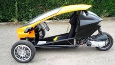 100 street legal scoot coupe 3 wheel trike scooter car. Black Bedroom Furniture Sets. Home Design Ideas