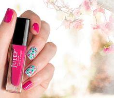 Floral Nails DIY