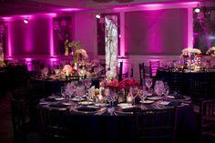 Wedding, Reception, Purple. Oh yess!