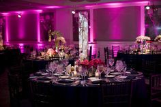Wedding, Reception, Purple