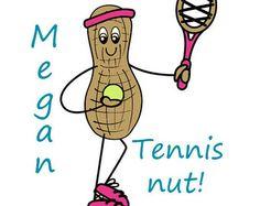 """""""Tennis Nut"""" Print on Etsy"""