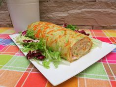 BRAZO DE VERDURAS CON PAVO Y QUESO Queso, Mexican, Ethnic Recipes, Food, Fast Recipes, Vegetables, Kitchens, Healthy Dinners, Clean Eating Meals
