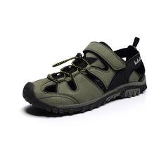 Sale 10% (28.96$) - New Arrivals Summer Men Casual Sandals Breathable Sandals Outdoor Solid Sandals