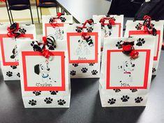 101 Dalmatians birthday party treat bags