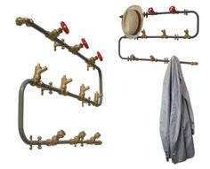 Towel, Clothing, Accessory Hooks Rack