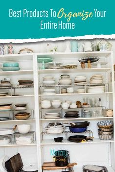 How To Organize Your Home - Clutter Free Organization Products For Home - Best Products For Home Organization Small Space Organization, Entryway Organization, Home Organization Hacks, Organizing Ideas, Organizing Clutter, Organizing Your Home, Pantry Storage Containers, Clean House, Keep It Cleaner