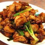 Chinese kip met pepers en cashewnoten