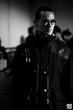 Backstage at Damir Doma, Spring/Summer 2013 | Paris @ http://le-21eme.com