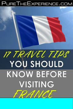 Thinking of visiting the beautiful country of France? Will this be your first time or your hundredth trip? Well, it doesn't matter how many times because you can never get enough! We're happy to know that you've decided to spend time and treat yourself to a different atmosphere and culture. But we also realise there are some fundamentals that you should know while planning for that trip to France. #travel #traveltips #traveladvice #travelplanning #traveleurope