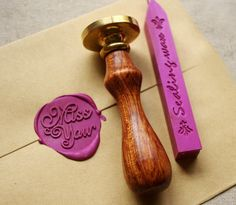 Wax Seal Stamp - need