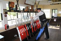 Cranmore Signal Box with Phil Hopkins in charge! Heritage Railway, Steam Railway, Water Tower, Steam Engine, Somerset, Locomotive, Towers, Glasgow, Bridges