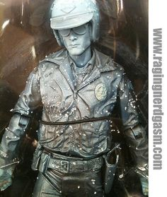 The Terminator T-1000 Liquid Nitrogen by NECA. Check out our flckr at http://www.flickr.com/photos/ragingnerdgasm/sets/72157632056030926/