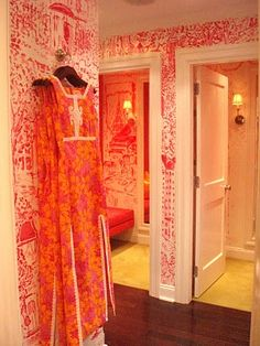 Madison Ave Toile, Lilly Pulitzer