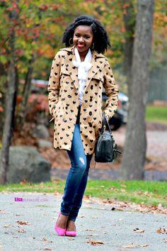 How to Style a Trench Coat: Fashion a La Mode Link Up - Lisa a la modeLisa a la mode