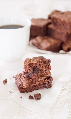 Triple Chocolate Brownies | From Sweet and Savoury Pursuits
