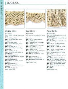 Knitted edging @Af's 26/2/13