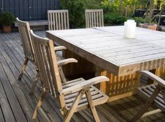 build outdoor table - Google Search