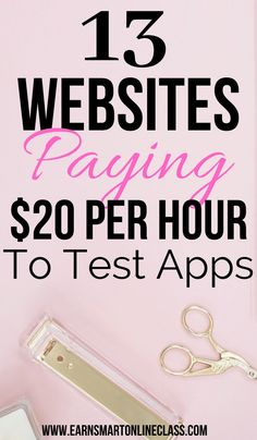 Searching for website testing jobs that pay well? Here are 13 online companies offering the best website testing jobs in 2020 and you can earn Ways To Earn Money, Earn Money From Home, Way To Make Money, Easy Online Jobs, Online Jobs From Home, Online Business Opportunities, Work From Home Opportunities, Business Ideas, Work From Home Careers