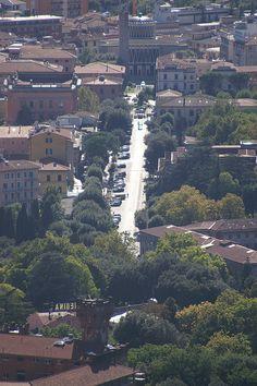 Viale Verdi, Montecatini Terme, Tuscany, Italy