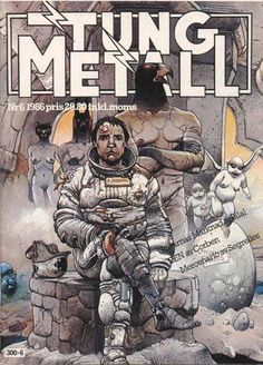 Cover for swedish magazine Tung metall (Epix, 1986 series) #6/1986