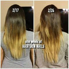 Check out our new ITWORKS! HAIR SKIN NAILS!!!! It works so great you won't want to stop!!! Check it out and order at www.wrapsbydarcie.com