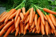 Carrots for Anti-Aging | Famous for their high content of beta-carotene, these crunchy superfoods contain valuable antioxidants. Specifically, these protectors guard against heart disease, cancer and premature aging of our cells. The vitamin A in carrots also protects the aging of our skin by guarding against sun damage. And cooking these bright orange veggies only releases more of that anti-aging, beta-carotene goodness.