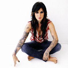 Kat Von D pin up | Kat Von D é a famosa tatuadora de Miami Ink. É uma argentina de ...