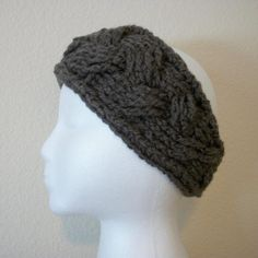 Free Headband Ear Warmer Pattern | The Braided Look ... by R0SEDEW | Crocheting Pattern