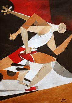 Run! by Riccardo Guasco, via Behance
