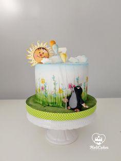 mole by MOLI Cakes Cake Icing, Fondant Cakes, Cupcakes, Cupcake Cakes, Beautiful Cakes, Amazing Cakes, Baby Girl Cakes, Horse Cake, New Cake