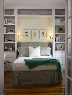 Trendy bedroom storage for small rooms clothing built ins Ideas Closet Bedroom, Bedroom Storage, Home Bedroom, Bedroom Decor, Bedroom Ideas, Bed Ideas, Bedroom Organization, Bedroom Lighting, Bedroom Furniture